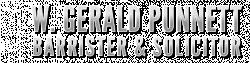 W. Gerald Punnett, Barrister & Solicitor logo