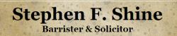 Stephen F. Shine logo