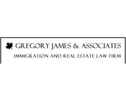 Gregory James logo