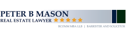 Peter B Mason Real Estate Lawyer logo