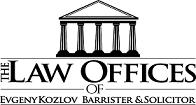 Evgeny Kozlov, BA, JD, LL.M. logo
